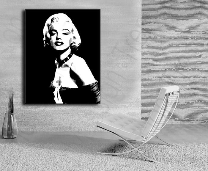 Malovaný Pop Art Obraz Na Stěnu Marilyn Monroe Prodej Obrazů Pro
